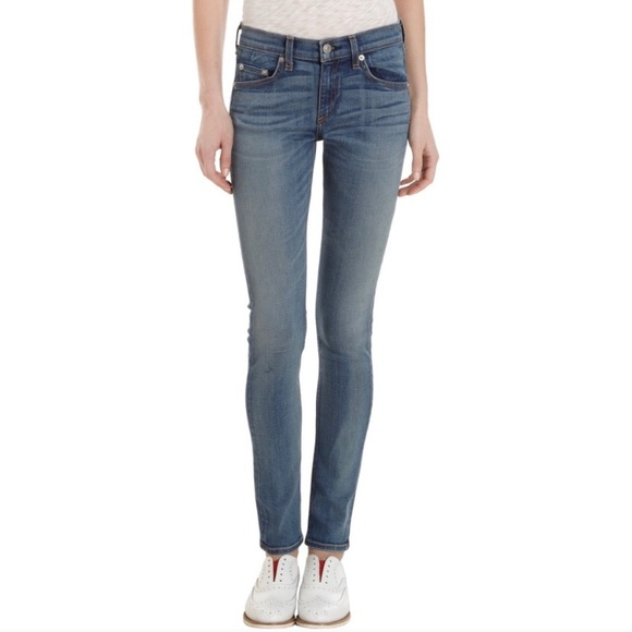 rag & bone Denim - Rag & Bone Skinny Heathway Jeans Sz 24